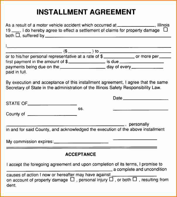 Installment Payment Agreement Template Awesome 8 Installment Payment Plan Agreement Template