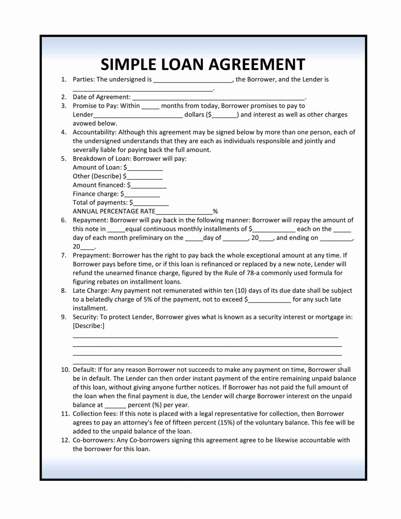 Installment Payment Agreement Template Awesome Installment Loan Agreement Template Sampletemplatess