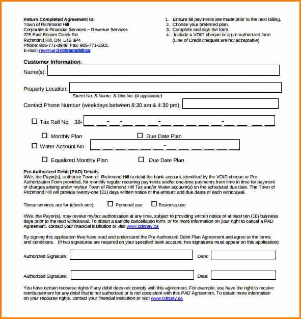Installment Payment Agreement Template Elegant 5 Installment Payment Plan Agreement Template