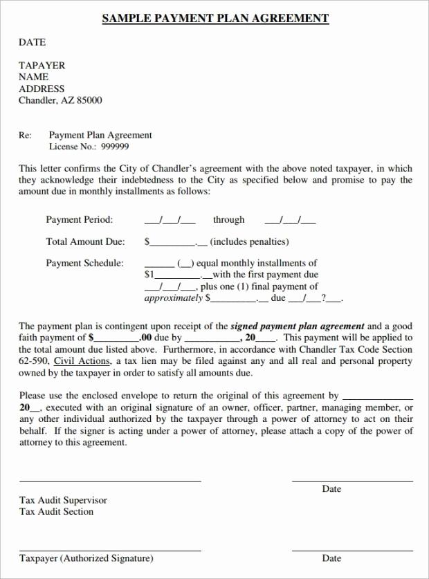 Installment Payment Agreement Template Lovely 16 Payment Plan Agreement Templates Word Excel Samples