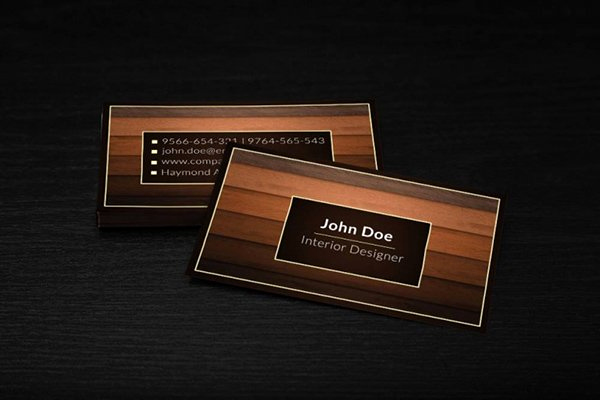 Interior Design Business Cards Awesome 30 Amazing Free Business Card Psd Templates