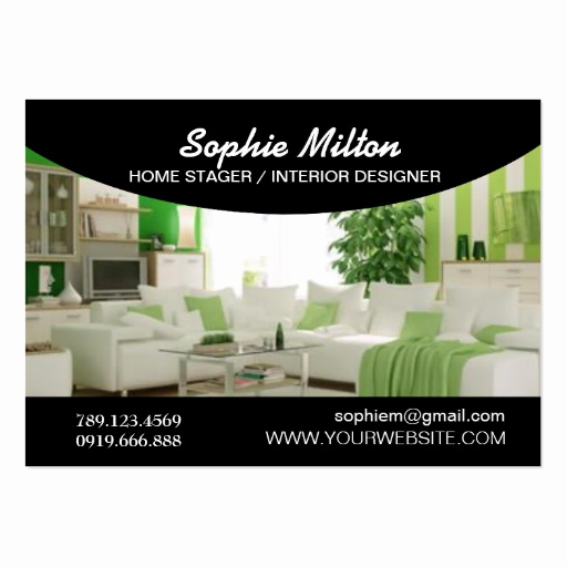 Interior Design Business Cards Awesome Home Stager Interior Designer Template Business