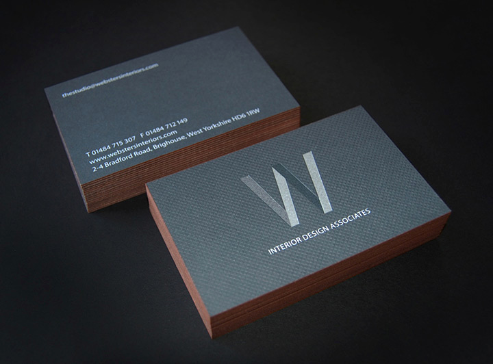 Interior Design Business Cards Awesome Websters Interior Designers Lovely Stationery Curating