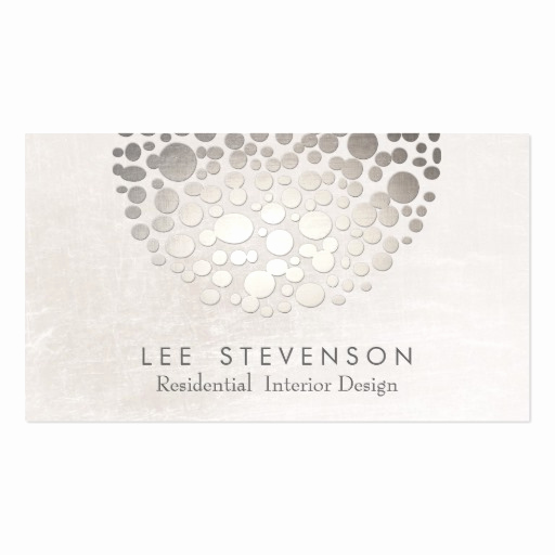 Interior Design Business Cards Beautiful Modern Stylish Interior Designer Business Card Template