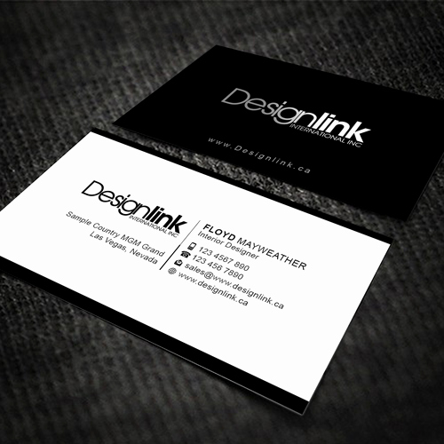 Interior Design Business Cards Inspirational Develop A Business Card for A Dynamic Interior Design Firm