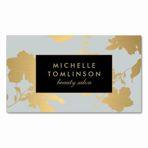 Interior Design Business Cards Lovely Elegant Gold Floral Pattern Pale Gray Designer Business