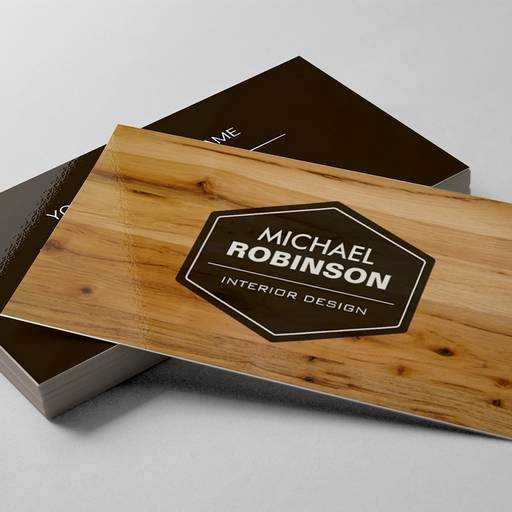 Interior Design Business Cards Lovely Modern Interior Design Wood Grain Texture Business Cards