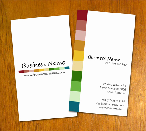 Interior Design Business Cards New Free Business Card Templates