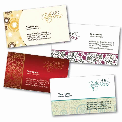 Interior Design Business Cards New Mike Tyson Tattoos Business Card Design Template