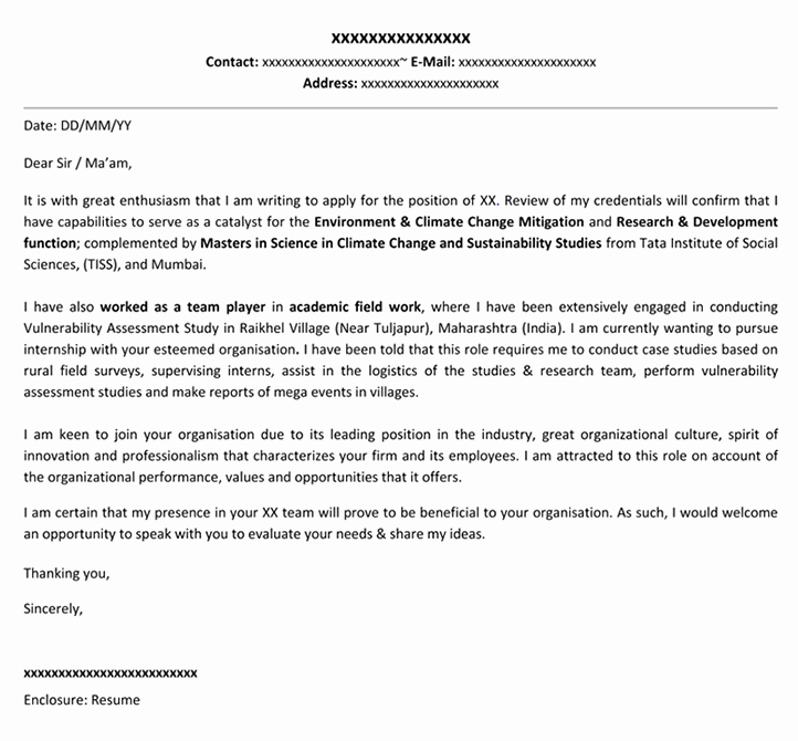 Internship Cover Letter Template Beautiful Professional Resume Cover Letter Templates 15 Examples