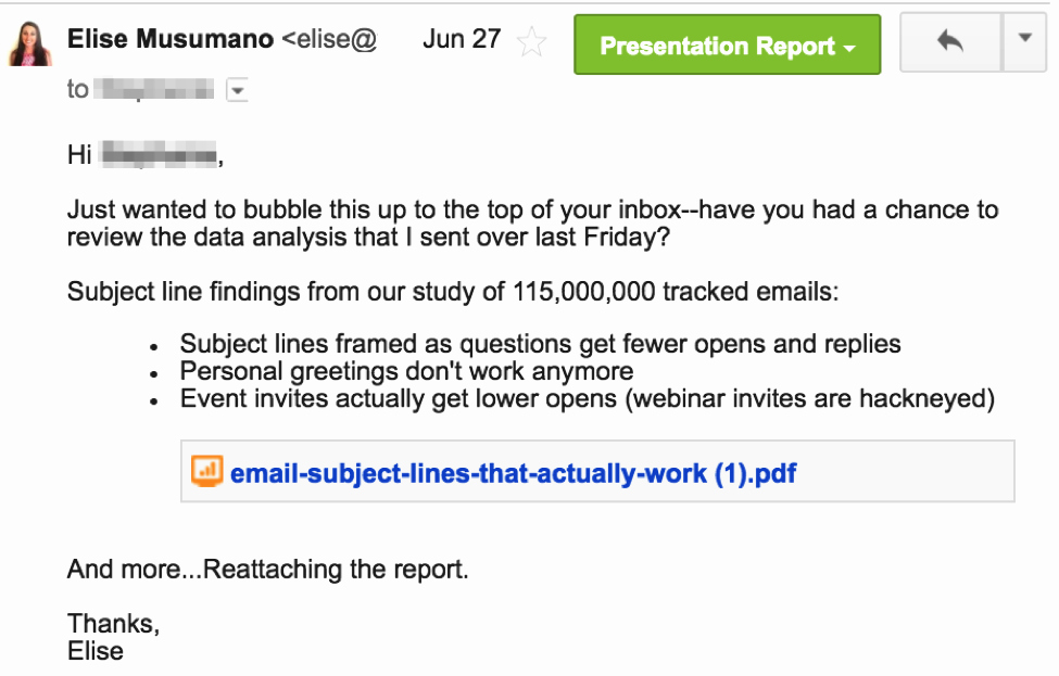 Interview Follow Up Email Template Lovely 12 Examples Of A Follow Up Email Template to Steal Right