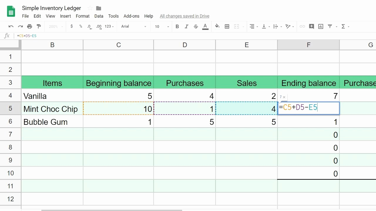 Inventory Template Google Sheets Inspirational Google Sheets Inventory Tracking System