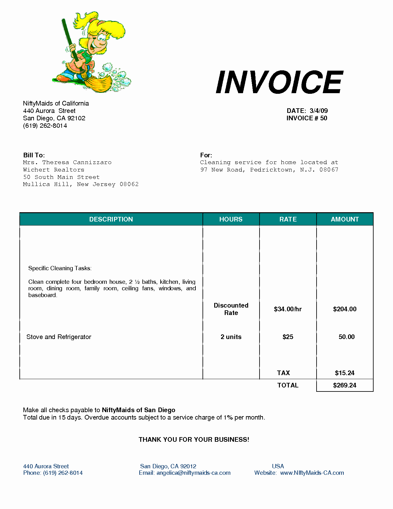Invoice format In Word Elegant Cleaning Invoice Template Uk