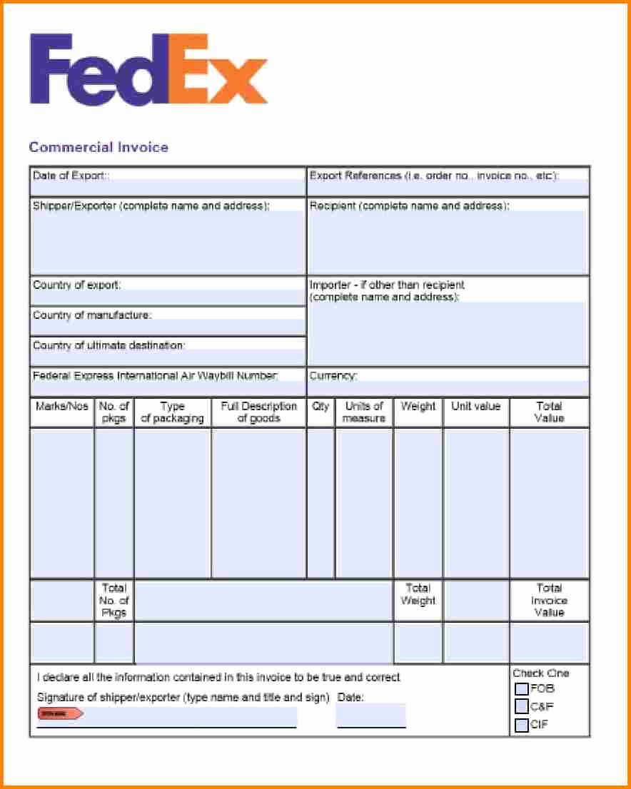 Invoice format In Word Unique 9 Courier Bill format In Word