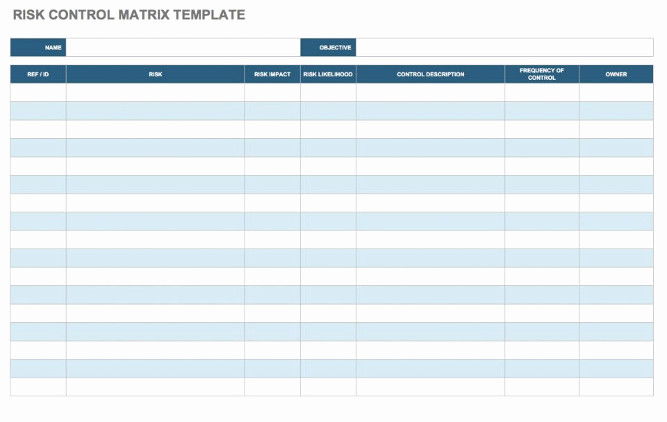 It Risk assessment Template Luxury Free Risk assessment Matrix Templates