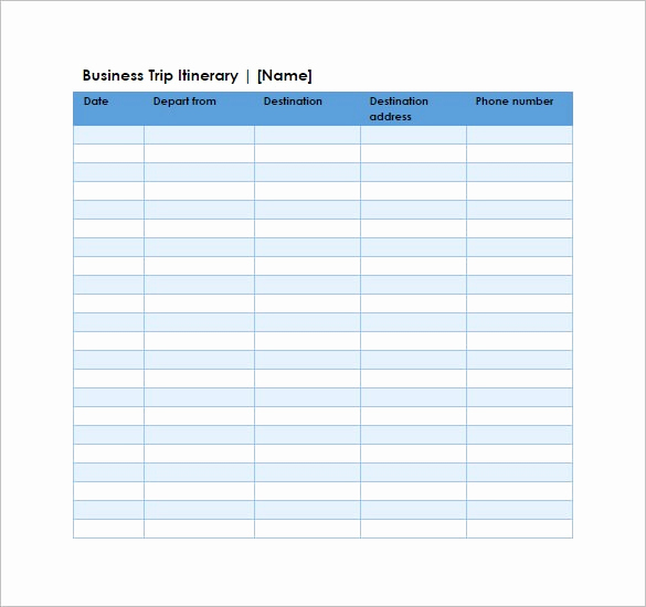 Itinerary Template Google Docs Fresh Google Spreadsheet Templates