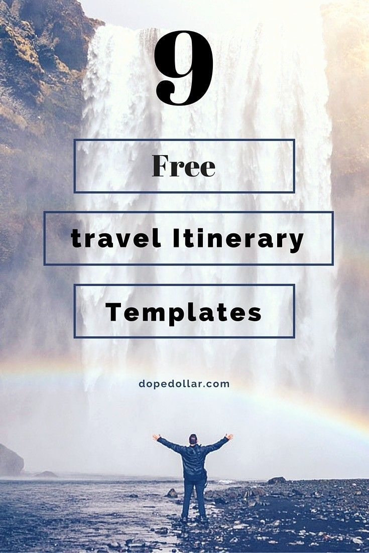Itinerary Template Google Docs Inspirational Free Travel Itinerary Templates for Travel Flight