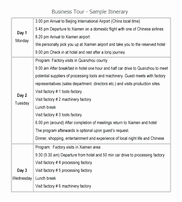 Itinerary Template Google Docs Luxury Google Travel Itinerary Template – Nenne