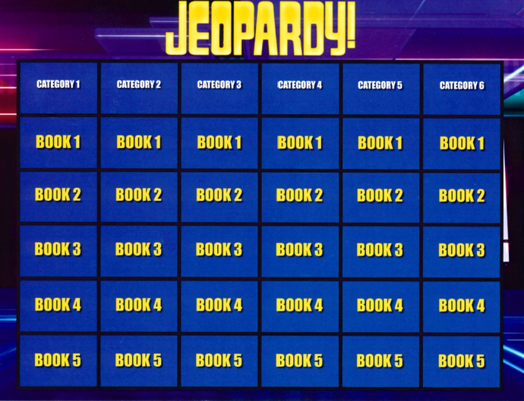 Jeopardy Powerpoint Template 5 Categories Awesome Jeopardy Templates