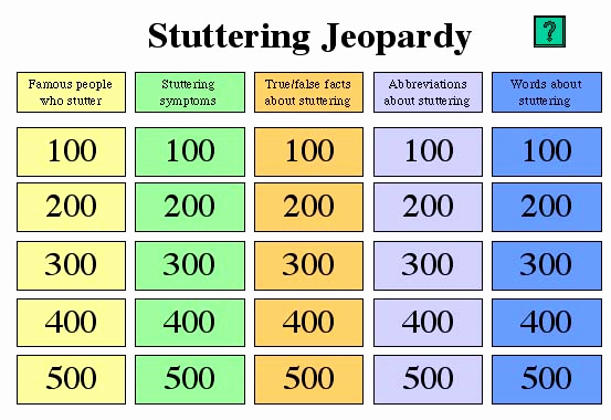 Jeopardy Powerpoint Template 5 Categories Awesome Kuster