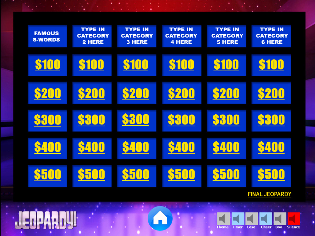 Jeopardy Powerpoint Template 5 Categories Elegant Jeopardy Powerpoint Game Template Youth Downloadsyouth