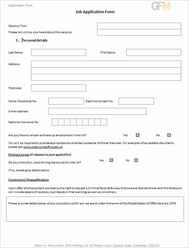 Job Application Template Doc Beautiful 190 Job Application form Free Pdf Doc Sample formats