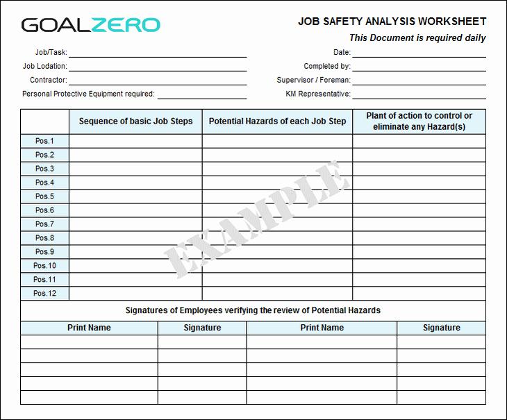 safety job safety analysis