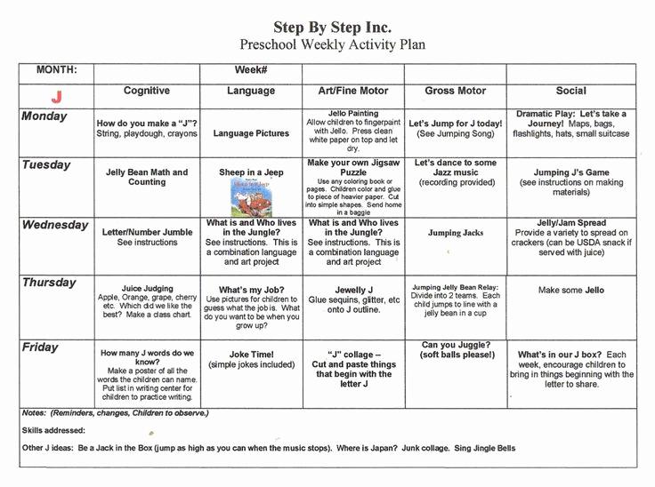 Kindergarten Lesson Plan Template Luxury Emergent Curriculum Preschool Lesson Plan Template