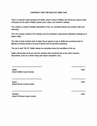 Land Purchase Agreement form Pdf Inspirational Sales Contract Template Free Download Create Edit Fill