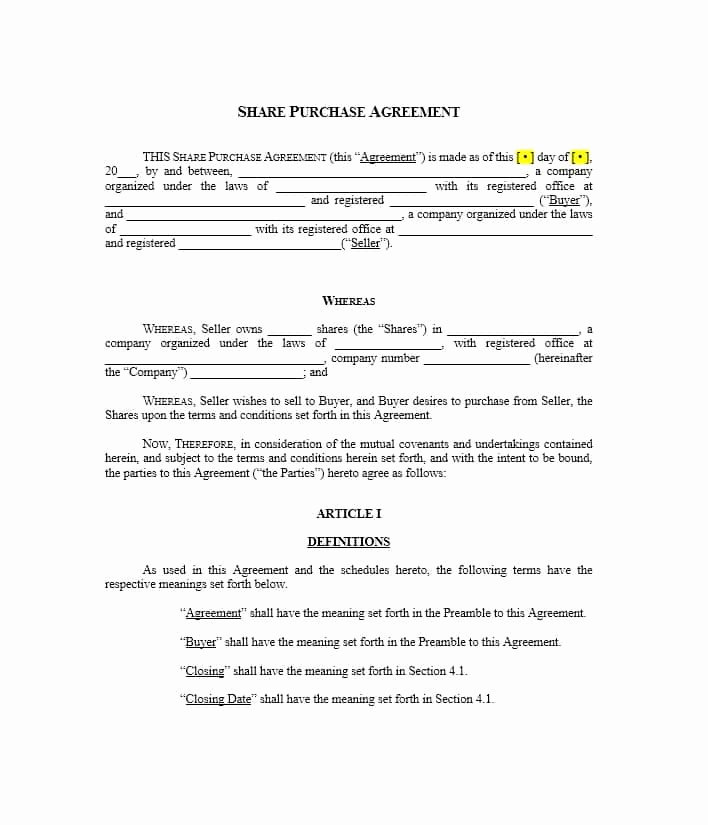 Land Purchase Agreement form Pdf Luxury 37 Simple Purchase Agreement Templates [real Estate Business]