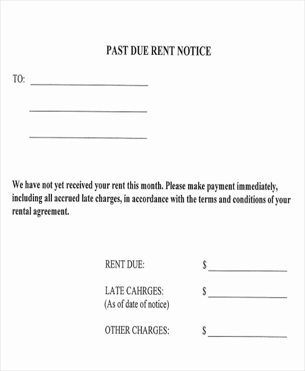 Late Rent Payment Letter New Professional Payment Due Notice Letter Samples for Your