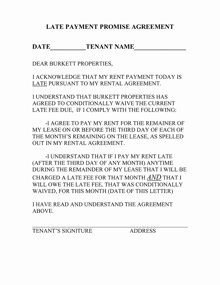 Late Rent Payment Letter Unique 7 Best Landlord Documents Images On Pinterest