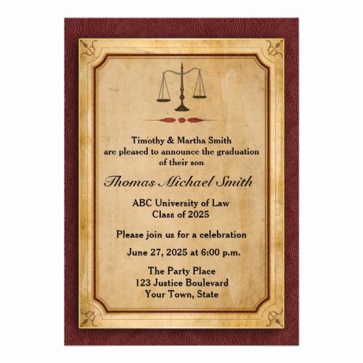 Law School Graduation Announcements Beautiful 1 000 Law School Graduation Invitations Law School
