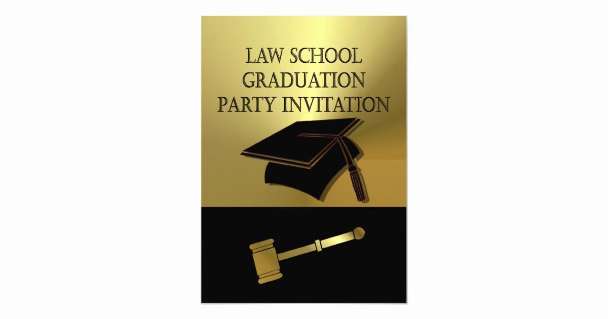 Law School Graduation Announcements Beautiful Law School Graduation Party Invitation Scales Book