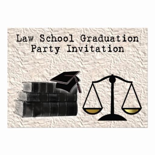 """Law School Graduation Announcements Unique Law School Graduation Party Invitation Scales Book 5"""" X 7"""