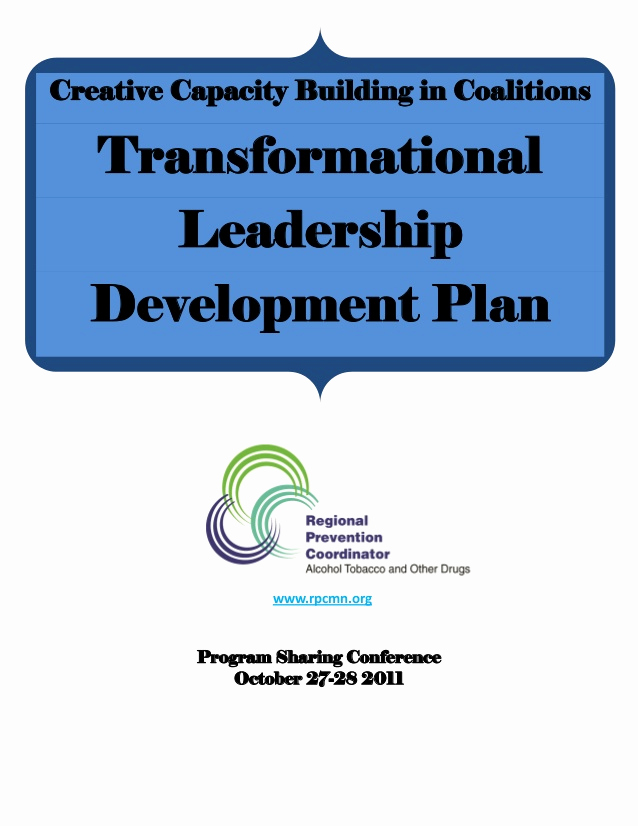 Leadership Development Plan Example Beautiful Transformational Leadership Development Plan