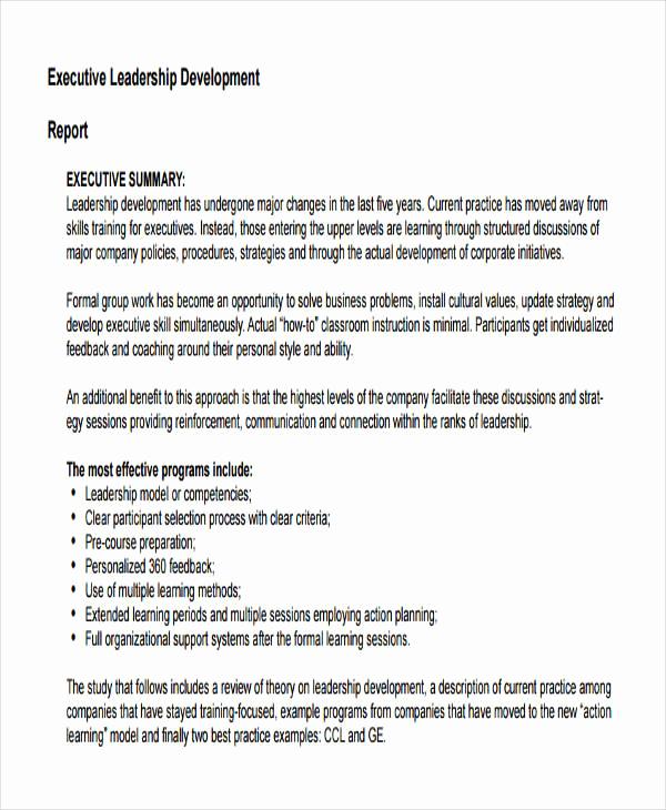 Leadership Development Plan Example Unique 58 Development Plan Examples & Samples Pdf Word Pages
