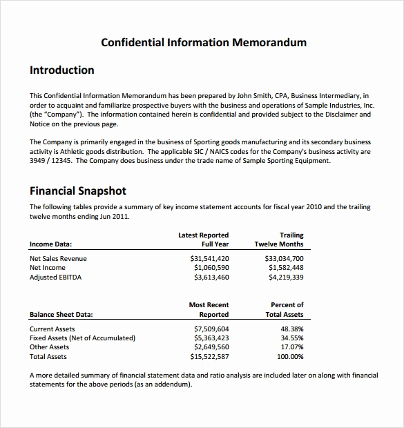 Legal Memorandum Sample Pdf Awesome 7 Sample Confidential Memos