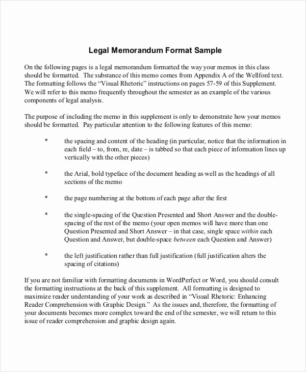 Legal Memorandum Sample Pdf Unique 10 Legal Statement Samples & Templates Pdf Doc
