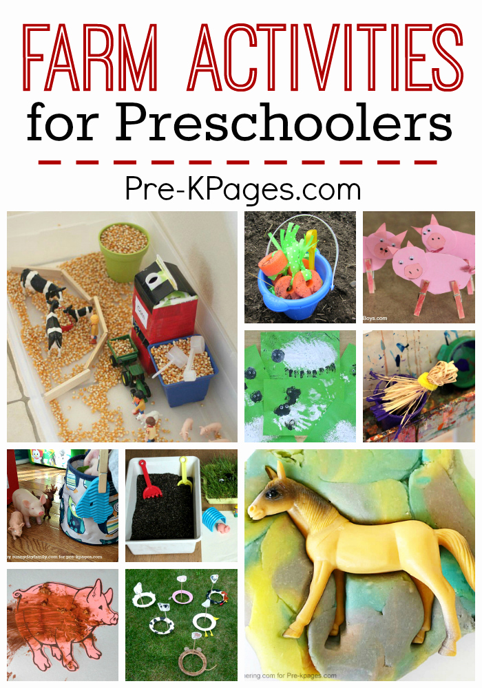 Lesson Plans for Kindergarten Inspirational Farm Activities for Preschoolers Pre K Pages
