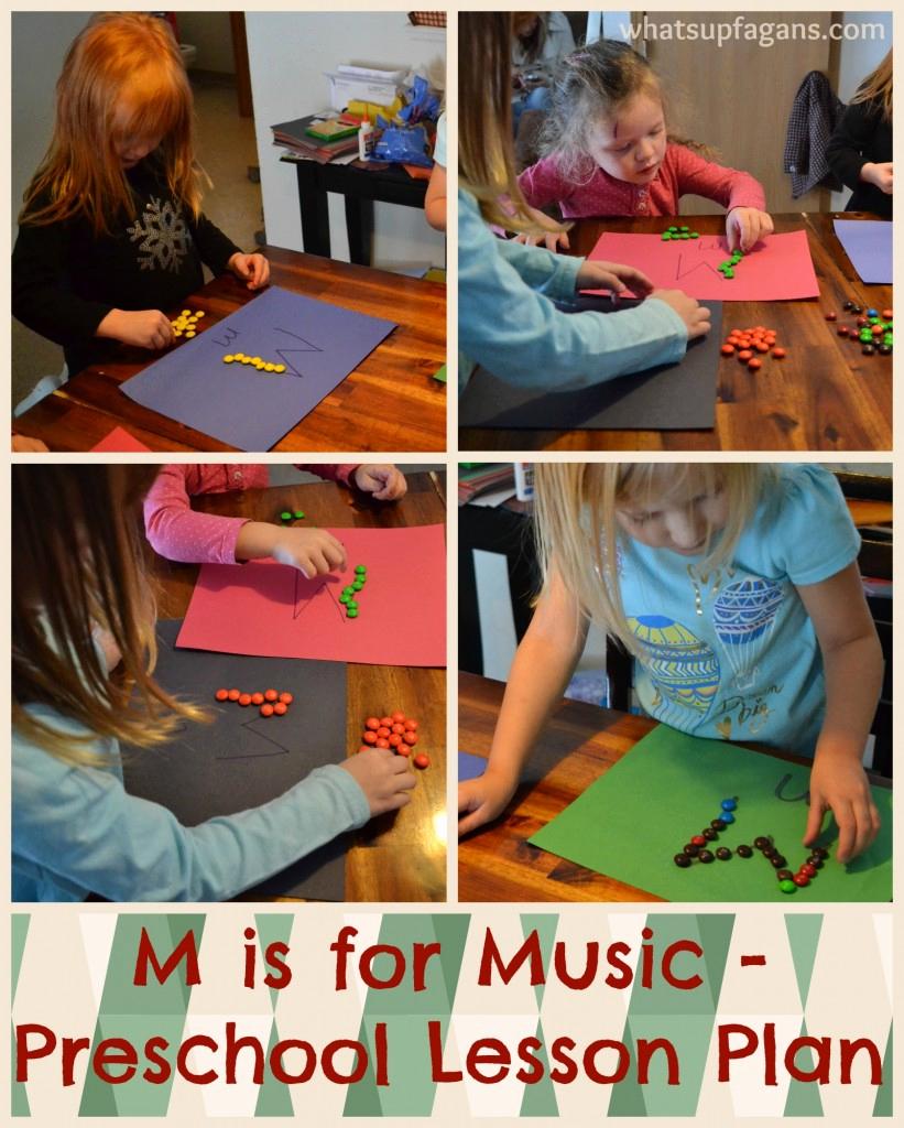 Lesson Plans for Kindergarten Luxury Letter M Activities for Preschool M is for Music Lesson