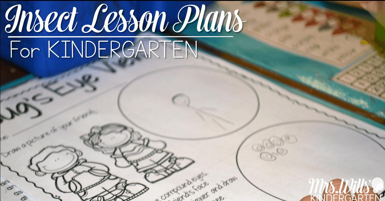 Lesson Plans for Kindergarten Unique Insect Lesson Plans for Kindergarten