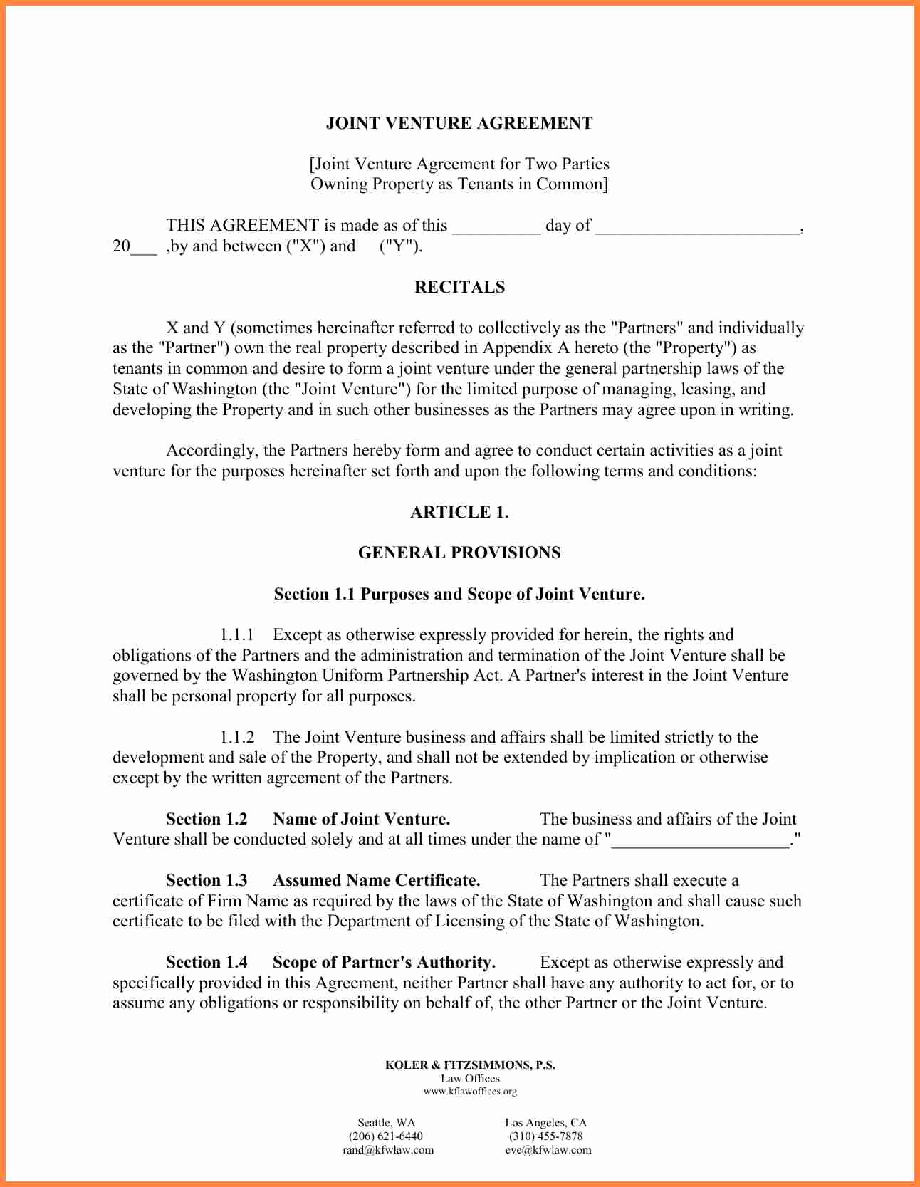 Letter Of Agreement Template Lovely 10 Letter Of Agreement Template Between Two Parties