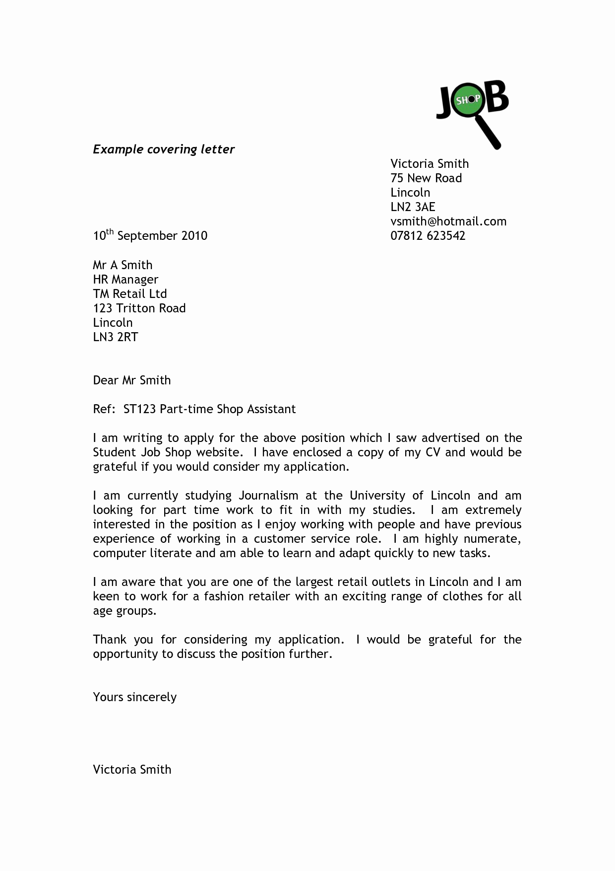 Letter Of Application Template Lovely Cover Letter for Resume Sales Position Writing and