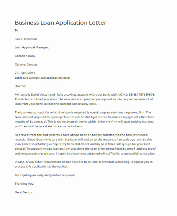 Letter Of Applications Examples Inspirational 52 Application Letter Examples & Samples Pdf Doc