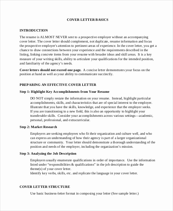 Letter Of Introduction for Employment Lovely 8 Cover Letter Introduction Samples
