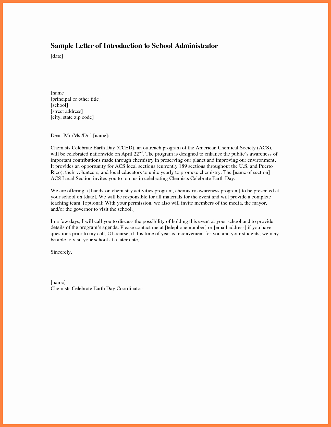 Letter Of Introduction for Employment Luxury 4 Letter Of Introduction for Job