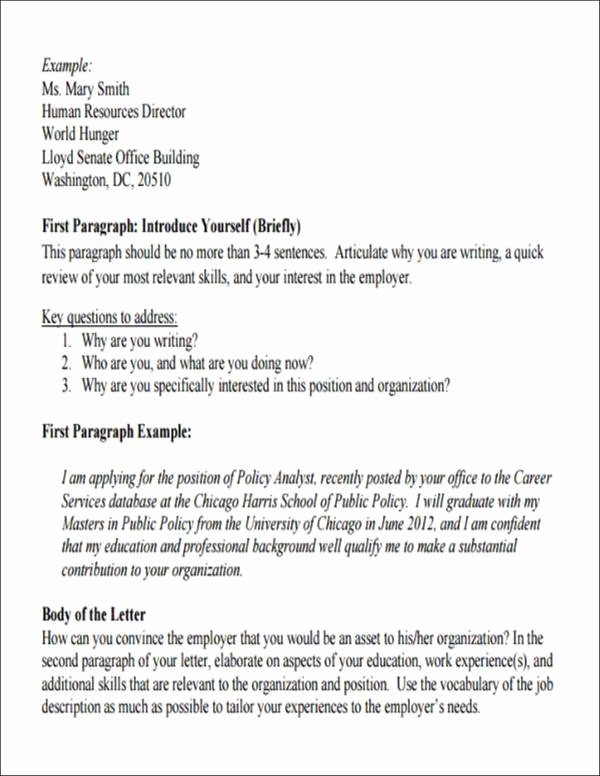 Letter Of Introduction for Employment Luxury 5 Employment Introduction Letter Samples and Templates