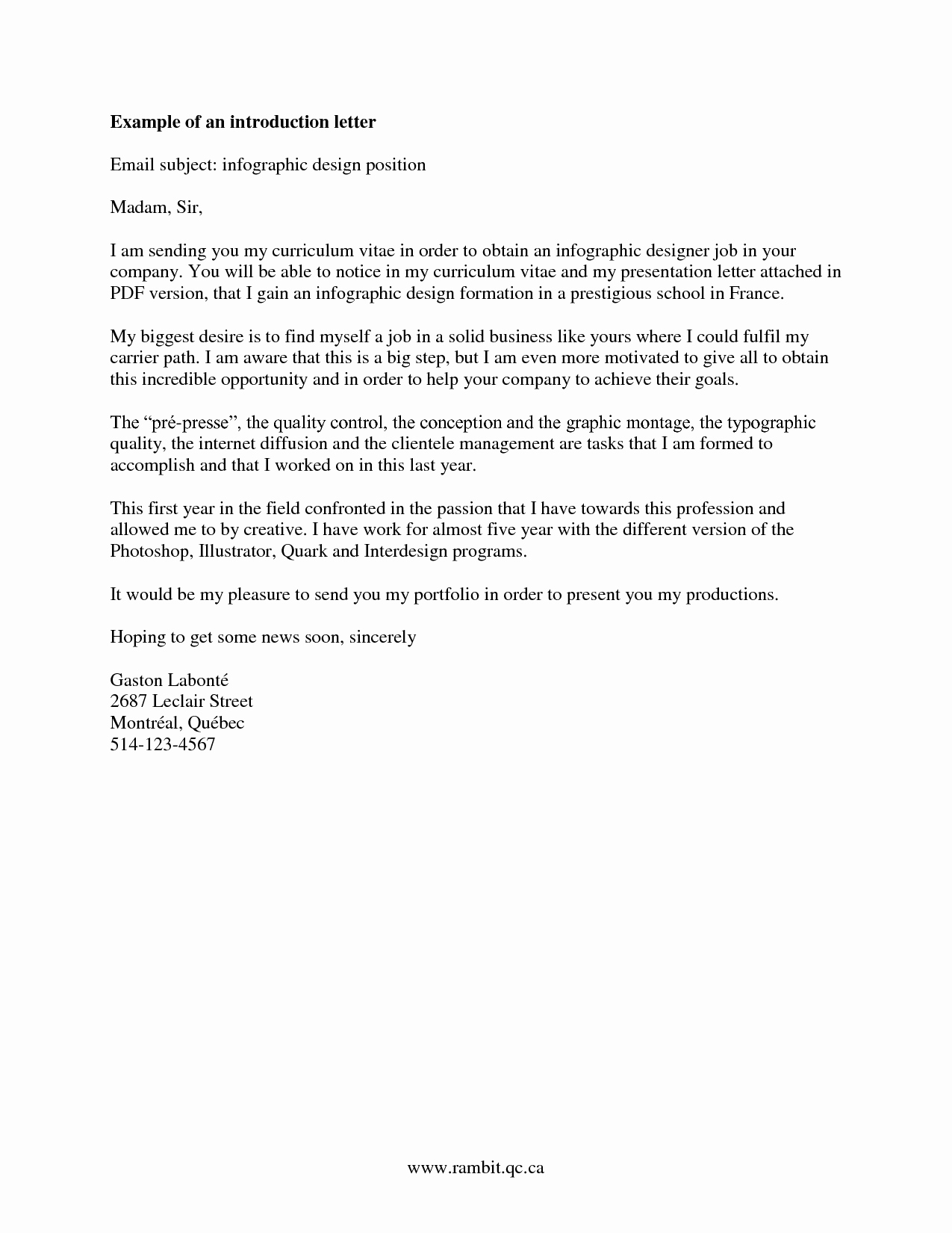 Letter Of Introduction for Employment New Pin by Emma Clifton On Job Intro Letter