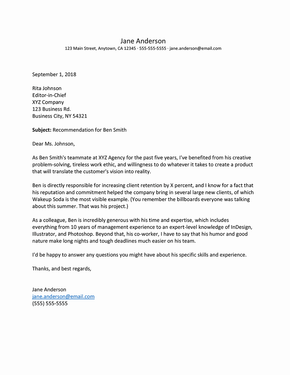 Letter Of Recommendation for Colleague New Letter Re Mendation for Coworker Sample A Teacher